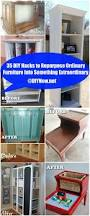 35 diy hacks to repurpose ordinary furniture into something