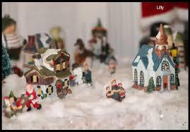 idee village de noel il a neigé sur mon village de noël dans ma bonjotte