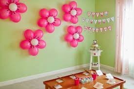 how to decorate birthday party at home balloon decoration ideas birthday party balloons settings