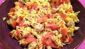 riz cuisiné salade de riz aux crevettes et comté farcie dans un pomelo 8pp