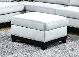 gray leather ottoman coffee table awesome grey ottoman coffee table medium size of grey ottoman coffee