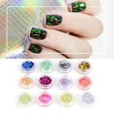 popular acrylic decorative items buy cheap acrylic decorative 12 colors nail art glitter round shapes sequins acrylic tips uv gel diy design fashion decoration