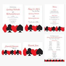 vegas wedding invitations las vegas wedding invitations rsvp card suits