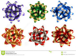 bows for presents six present bows stock image image of bowing isolated 1942381
