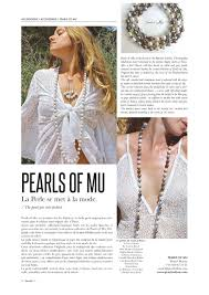 hippy chic fashion designed baroque pearl necklaces and accessories