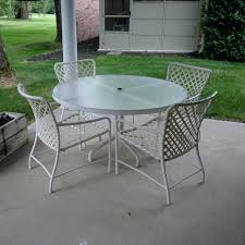 Glass Top Patio Dining Table Patio Ideas Glass Patio Table And Chairs Set Round Glass Patio