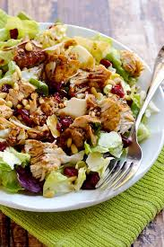 leftover turkey cranberry salad a pinch of healthy