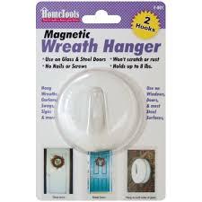 magnetic wreath hanger 2 1 2 white walmart