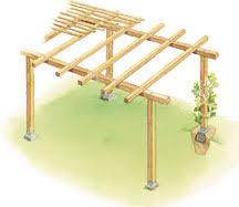 how to build a trellis arbor or pergola