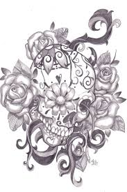 best 25 sugar skull tattoos ideas on pinterest pretty skull