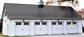 How To Frame A Garage Door by Custom Post Frame Garages Conestoga Buildings