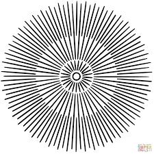 sun mandala coloring page free printable coloring pages