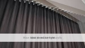 Block Out Blinds Block Out Wave Fold Curtains By A Curtains And Blinds Gold Coast