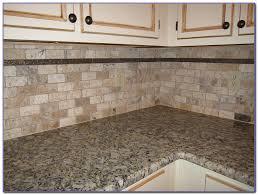 Tumbled Natural Stone Tile Backsplash Tiles  Home Design Ideas - Backsplash stone tile