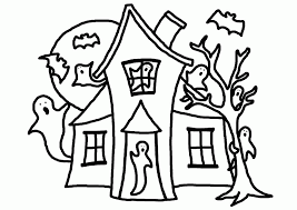 gingerbread house colouring pages coloring