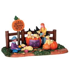 lemax halloween houses lemax halloween pupkins sku 63265 released in 2016 table piece