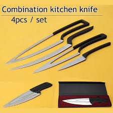 Images Of Kitchen Knives Xituo Multi Kitchen Knives 4pcs Set Cing Stainless Steel Knife
