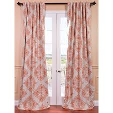 Grommet Curtains 63 Length Nicole Miller Gray Phoenix Bird Pagoda Pair 96