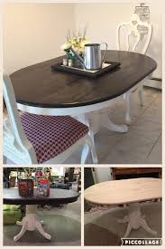 oval dining room tables farmhouse oval dining table 10 thrift store table refinished to