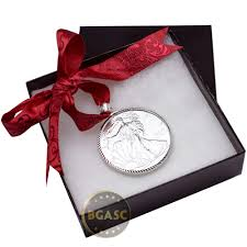 buy 2017 american silver eagle coin christmas ornament with red
