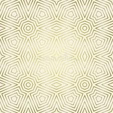 seamless pattern with symmetric geometric ornament abstract