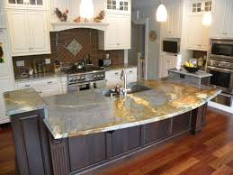 painted kitchen islands kitchen island cool curved quartzite countertops with painted