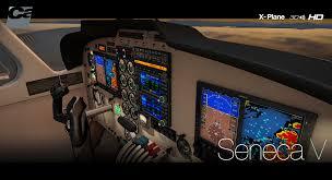 computer engineering seneca carenado piper pa34 seneca hd series for x plane flightsim