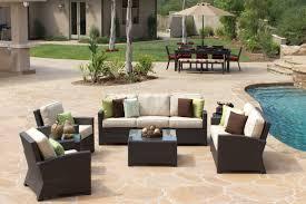 Patio Set Furniture by Bonita Wicker Patio Outdoor Patio Furniture Atlanta