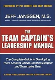 jeff janssen books the team captains leadership manual the completed guide to