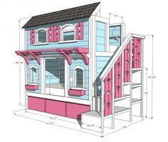Free Do It Yourself Loft Bed Plans by Sweet Pea Bunk Beds Do It Yourself Home Projects From Ana White