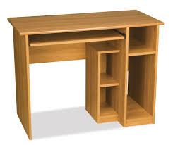 amazon com computer workstation w desk u0026 open cubbies basic