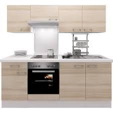 K Henzeile Preiswert Flex Well Exclusiv Küchenzeile Akazia 210 Cm Akazie Nachbildung