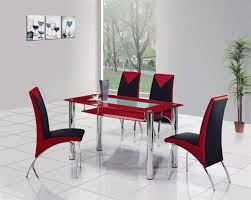 cheap red dining table and chairs rimini glass dining table glass dining table and chairs glass