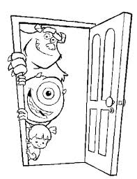 monsters inc coloring pages boo monsters inc coloring pages monster truck coloring pages free