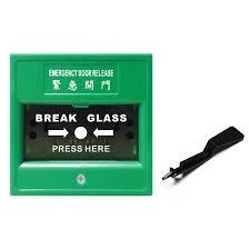 break glass door release mcp 15g emergency door release manual call point