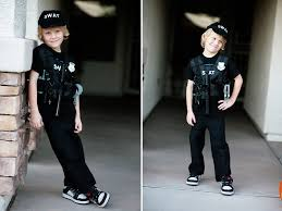kids swat halloween costum my