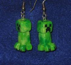 minecraft earrings minecraft block earrings by oxygenimpulse on etsy 13 00