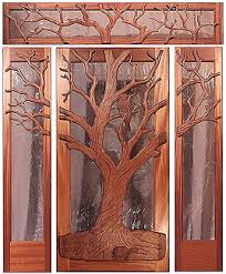 Carved Exterior Doors Custom Wood Doors By Mendocino Doors Exterior And Interior