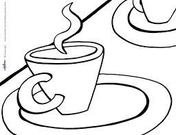 tea coloring pages 100 images the stylish and interesting tea