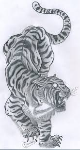 list of synonyms and antonyms of the word tiger tattoos