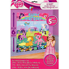 My Little Pony Party Decorations Amscan Birthday Child My Little Pony Party Decorations Ebay