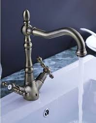 Solid Brass Kitchen Taps by Antique Inspired Solid Brass Kitchen Faucet Antique Brass Finish