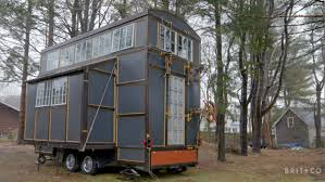 tiny spaces a tiny home built out of recycled materials youtube