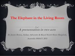 elephant in the living room justin bowra the elephant in the living room