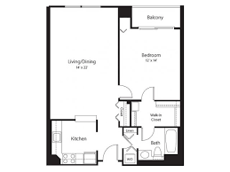 The Lenox Floor Plan Apartments For Rent In Silver Spring Md Lenox Park