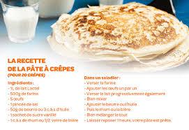 cuisiner des crepes 100 recettes de crêpes et de galettes lactel
