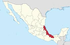 World Map Mexico by File Veracruz In Mexico Location Map Scheme Svg Wikimedia Commons