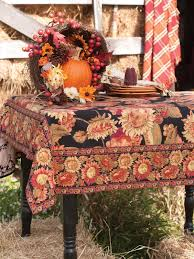 sunflower tablecloth black attic sale linens kitchen attic