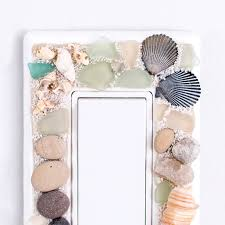 beach light switch covers beachy decorative switch plates resin crafts