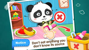 baby panda safety at home android apps on google play